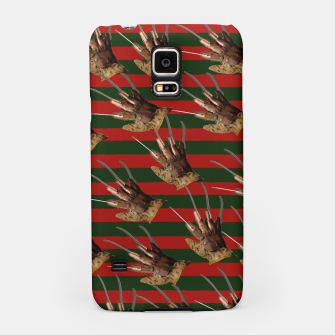 Thumbnail image of freddy krueger clothes Samsung Case, Live Heroes