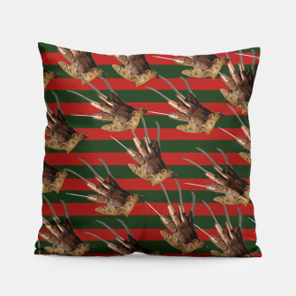 Thumbnail image of freddy krueger clothes Pillow, Live Heroes