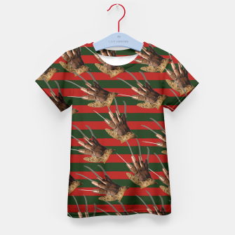 Thumbnail image of freddy krueger clothes Kid's T-shirt, Live Heroes