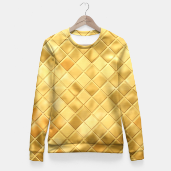 Thumbnail image of Golden Clothing Fitted Waist Sweater, Live Heroes
