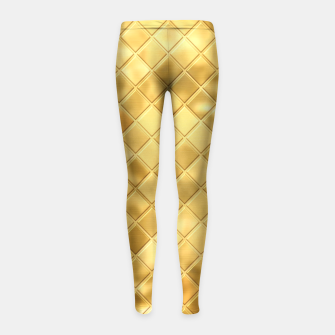 Thumbnail image of Golden Clothing Girl's Leggings, Live Heroes