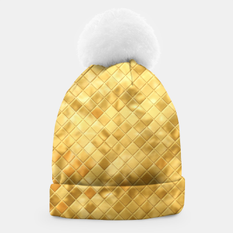 Thumbnail image of Golden Clothing Beanie, Live Heroes