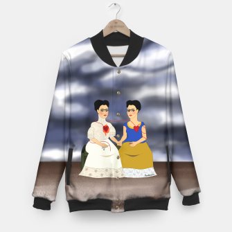 Thumbnail image of Fridas Baseball Jacket, Live Heroes