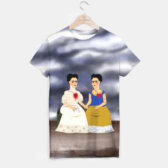 Thumbnail image of Fridas T-shirt, Live Heroes