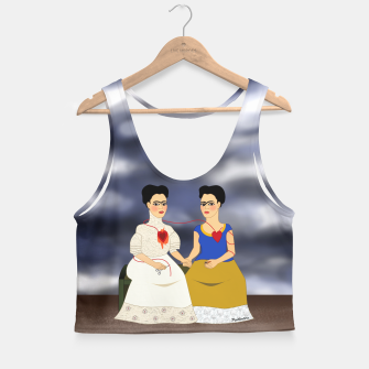Thumbnail image of Fridas Crop Top, Live Heroes
