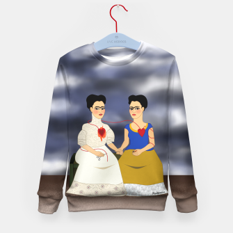 Thumbnail image of Fridas Kid's Sweater, Live Heroes