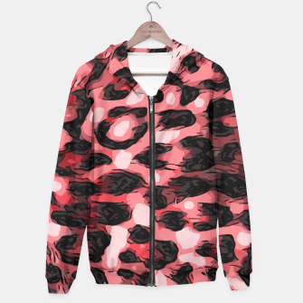 Thumbnail image of Strawberry Watercolor Cheetah Print  Hoodie, Live Heroes