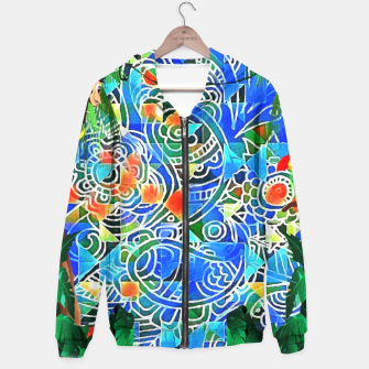 Thumbnail image of Jungle Life Abstract  Hoodie, Live Heroes