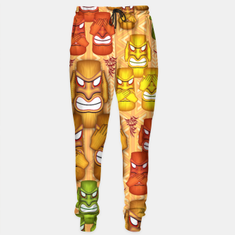 Thumbnail image of Don't See Don't Hear Don't Speak Totems Sweatpants, Live Heroes