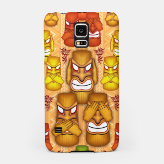 Thumbnail image of Don't See Don't Hear Don't Speak Totems Samsung Case, Live Heroes