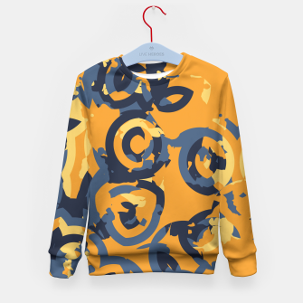 Thumbnail image of Circles of Disortment Kid's Sweater, Live Heroes