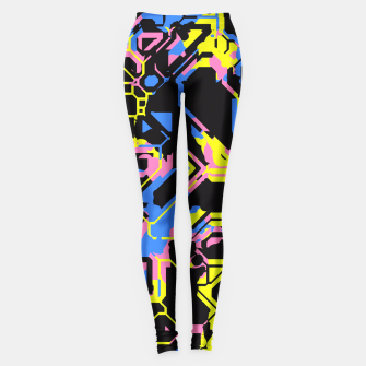 Thumbnail image of Color Distraction Leggings, Live Heroes