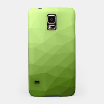 Greenery ombre gradient geometric mesh Samsung Case thumbnail image