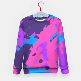 Thumbnail image of Colortraction Kid's Sweater, Live Heroes