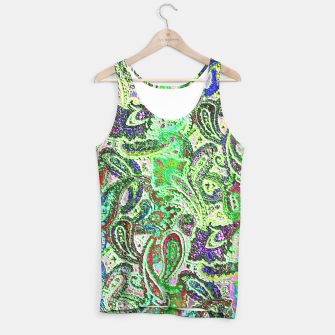 Thumbnail image of Vibrant Paisley in Bright Colors Tank Top, Live Heroes
