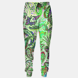 Thumbnail image of Vibrant Paisley in Bright Colors Sweatpants, Live Heroes