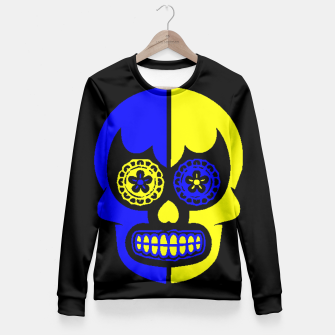 Thumbnail image of DAY OF THE DEAD-MEXICO Fitted Waist Sweater, Live Heroes