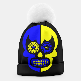 Thumbnail image of DAY OF THE DEAD-MEXICO Beanie, Live Heroes