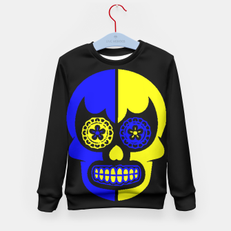Thumbnail image of DAY OF THE DEAD-MEXICO Kid's Sweater, Live Heroes