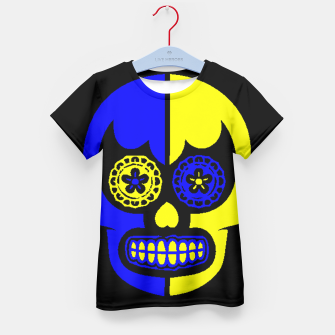 Thumbnail image of DAY OF THE DEAD-MEXICO Kid's T-shirt, Live Heroes