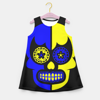 Thumbnail image of DAY OF THE DEAD-MEXICO Girl's Summer Dress, Live Heroes