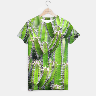 Miniaturka Set of cacti T-shirt, Live Heroes