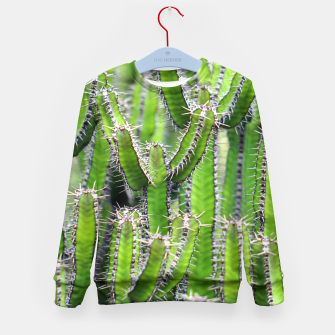 Miniaturka Set of cacti Kid's Sweater, Live Heroes