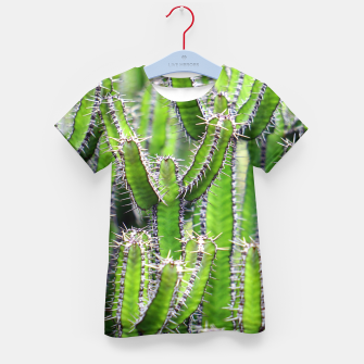 Miniaturka Set of cacti Kid's T-shirt, Live Heroes