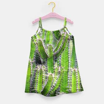 Miniaturka Set of cacti Girl's Dress, Live Heroes