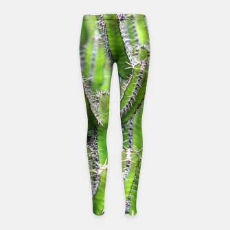Miniaturka Set of cacti Girl's Leggings, Live Heroes