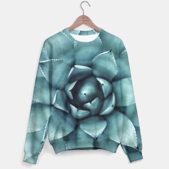 Miniaturka Turquoise cactus Sweater, Live Heroes