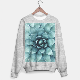Thumbnail image of Turquoise cactus Sweater regular, Live Heroes