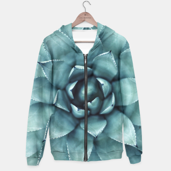 Thumbnail image of Turquoise cactus Hoodie, Live Heroes