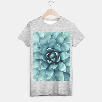 Thumbnail image of Turquoise cactus T-shirt regular, Live Heroes