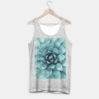 Thumbnail image of Turquoise cactus Tank Top regular, Live Heroes
