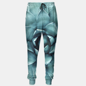 Thumbnail image of Turquoise cactus Sweatpants, Live Heroes