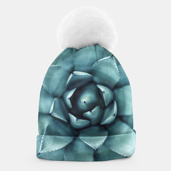 Thumbnail image of Turquoise cactus Beanie, Live Heroes