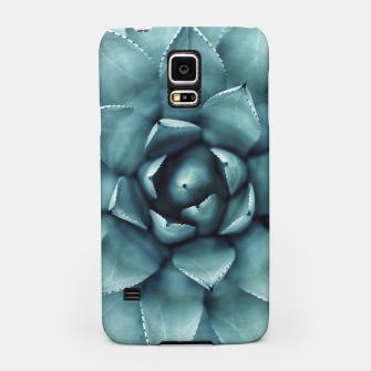 Miniaturka Turquoise cactus Samsung Case, Live Heroes