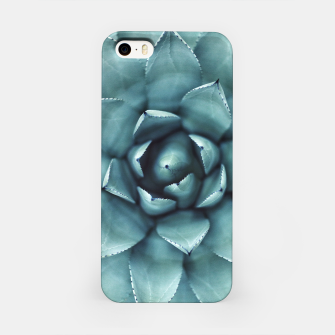 Miniaturka Turquoise cactus iPhone Case, Live Heroes