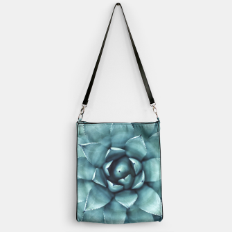 Thumbnail image of Turquoise cactus Handbag, Live Heroes