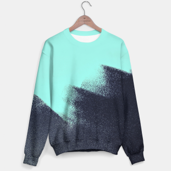Miniaturka Black and blue stain Sweater, Live Heroes
