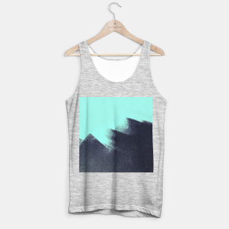 Miniaturka Black and blue stain Tank Top regular, Live Heroes