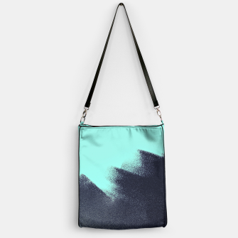 Thumbnail image of Black and blue stain Handbag, Live Heroes