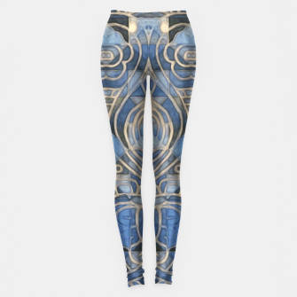 Thumbnail image of Geometric Abstract Design  Leggings, Live Heroes