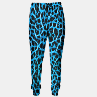 Thumbnail image of Florescent Blue Barbed Wire  Sweatpants, Live Heroes