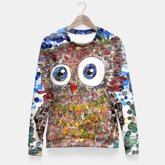 Thumbnail image of Woot Hoot Fitted Waist Sweater, Live Heroes
