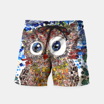 Thumbnail image of Woot Hoot Swim Shorts, Live Heroes