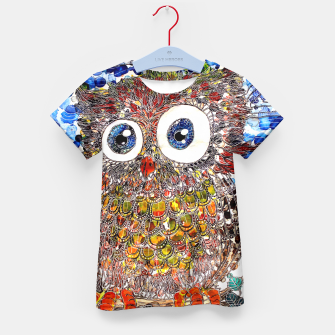 Thumbnail image of Woot Hoot Kid's T-shirt, Live Heroes