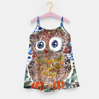 Thumbnail image of Woot Hoot Girl's Dress, Live Heroes