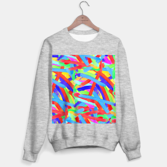 Thumbnail image of Colorful Finger Painting Sweater regular, Live Heroes